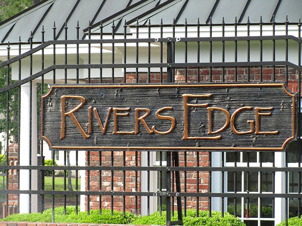 Rivers Edge Gated Entrance
