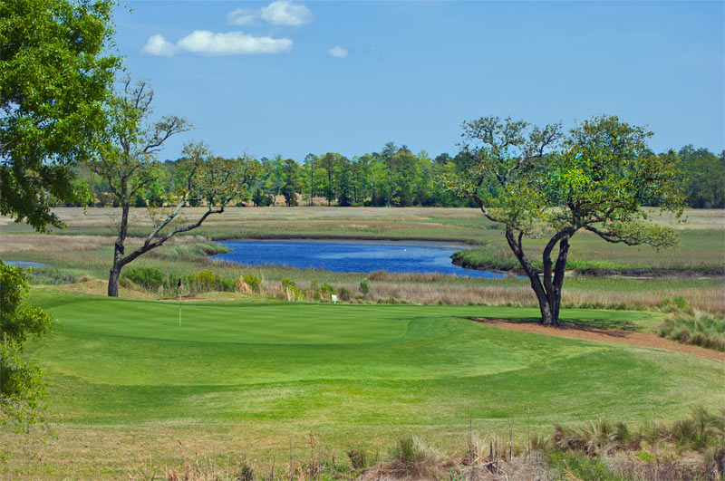 Scenic Golf Course at Rivers Edge
